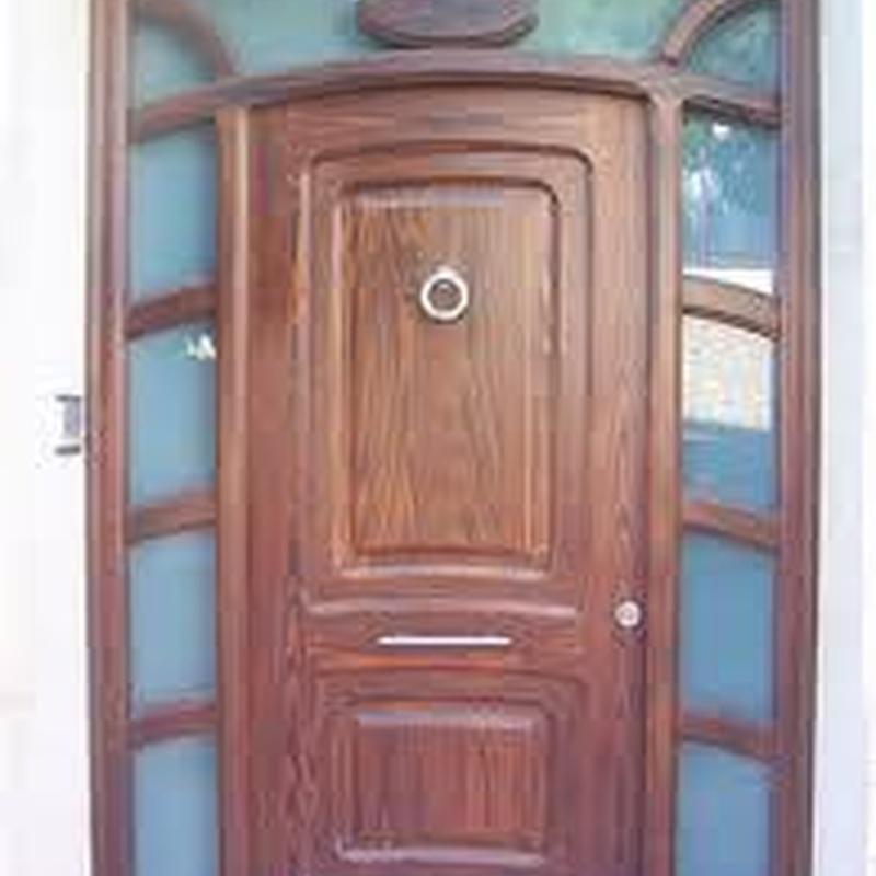 Puerta Blindada con Cristal de seguridad