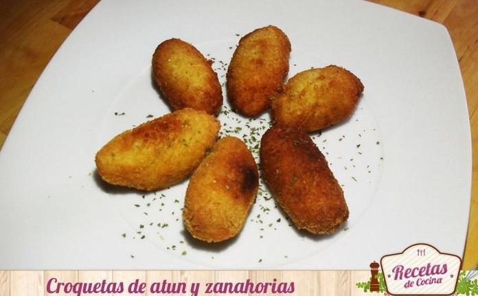 CROQUETAS DE ATÚN Y ZANAHORIAS