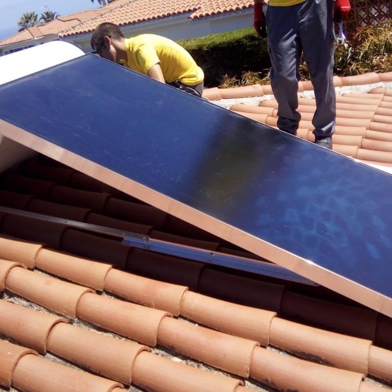 Energía solar térmica Tenerife