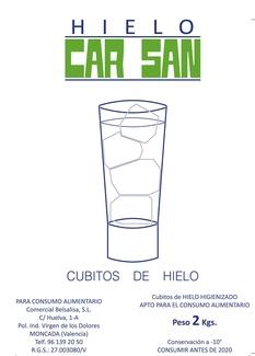 DISTRIBUCIÓN DE  HIELO