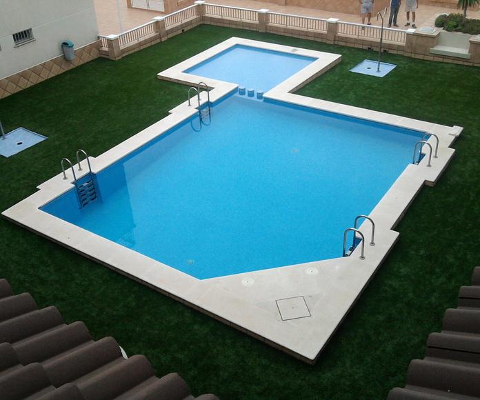 Impermeabilidad de piscinas: Servicios de Technopol