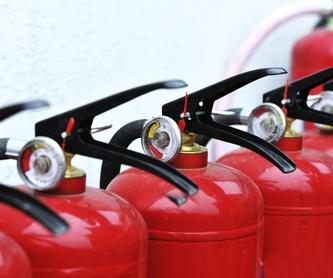 Campos de actuación: Servicios y productos de Incoval Protección Contra Incendios