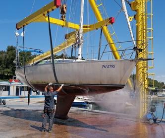 Limpieza de tapicería a particulares y empresas: Servicios de AQ Marine