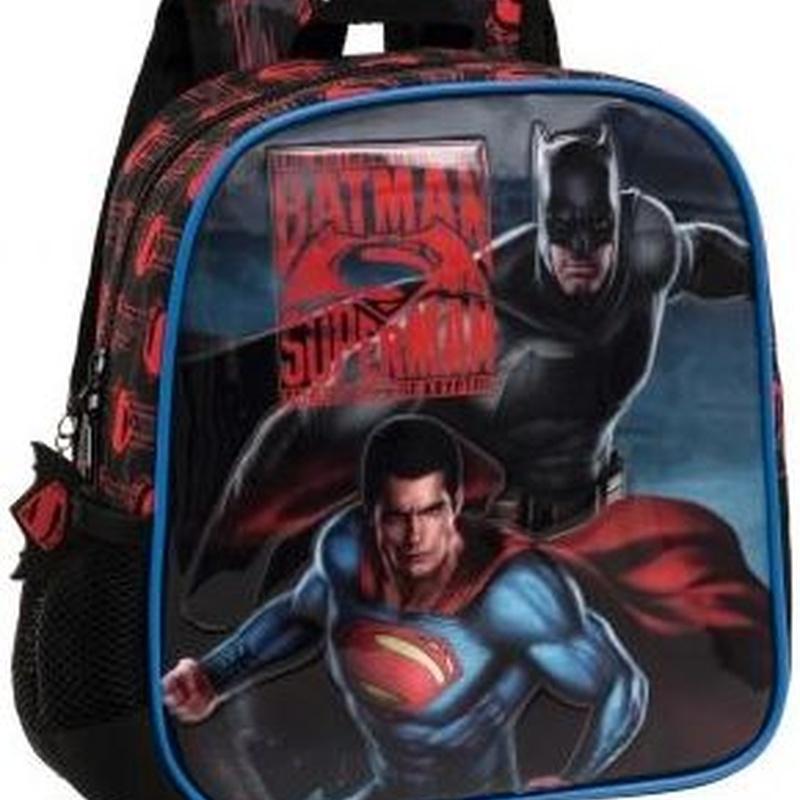 Mochila Batman y Superman