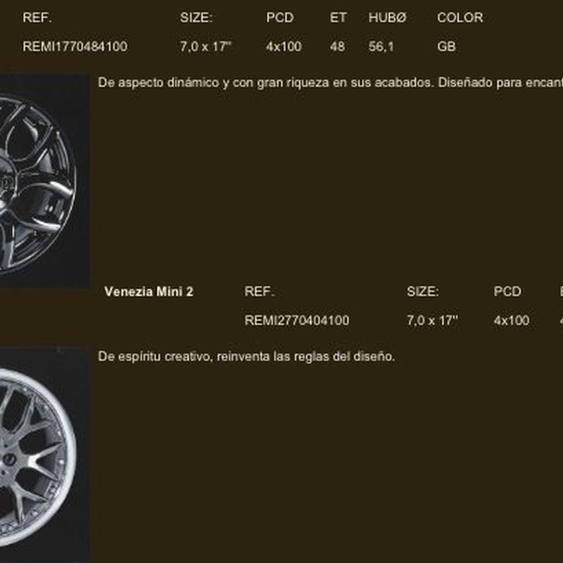 Llantas para Mini: Neumáticos Primeras Marcas  de Big Sur Neumáticos