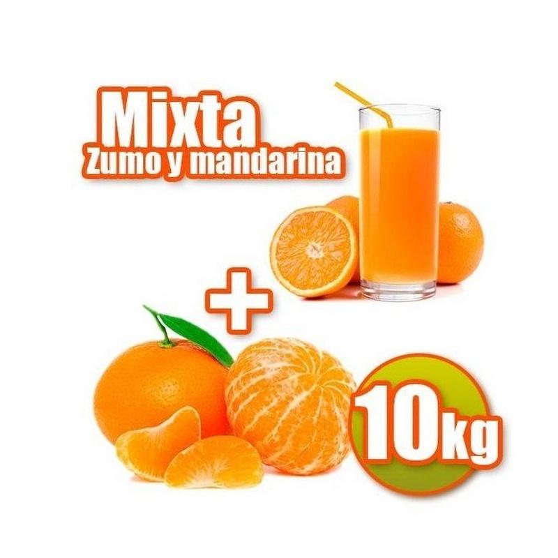Mixta de zumo y mandarina 10 kg: Productos de Naranjas Julián