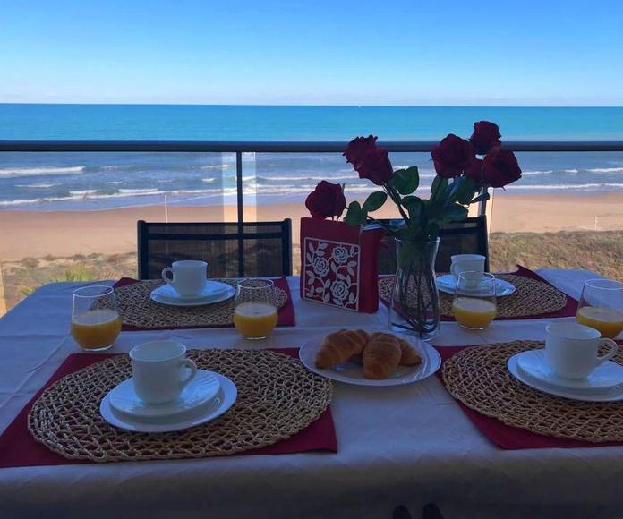 Alquiler y venta 1º línea frontal al mar en Guardamar de la safor, Gandia: Apartamentos de Grupo Xeraco Habitat