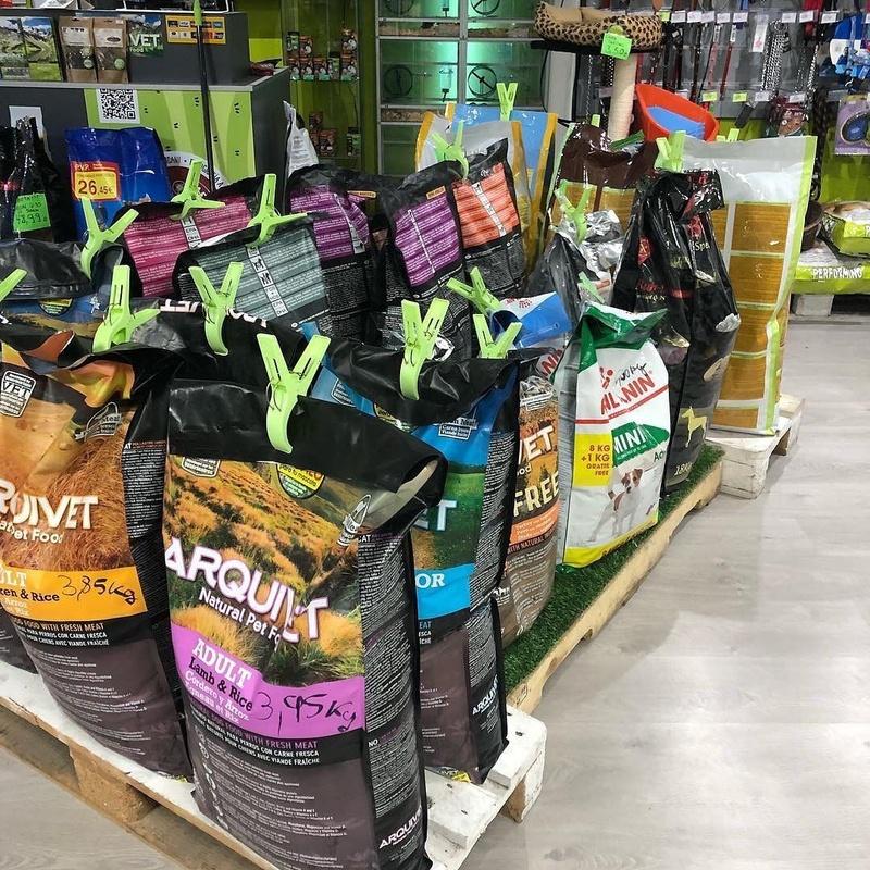 Alimentos para perros y gatos: Catálogo de Reptil Parc