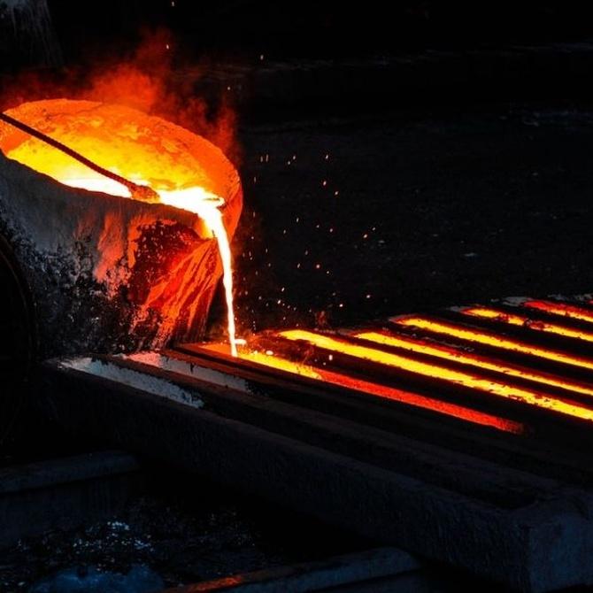 Historia de la forja del hierro