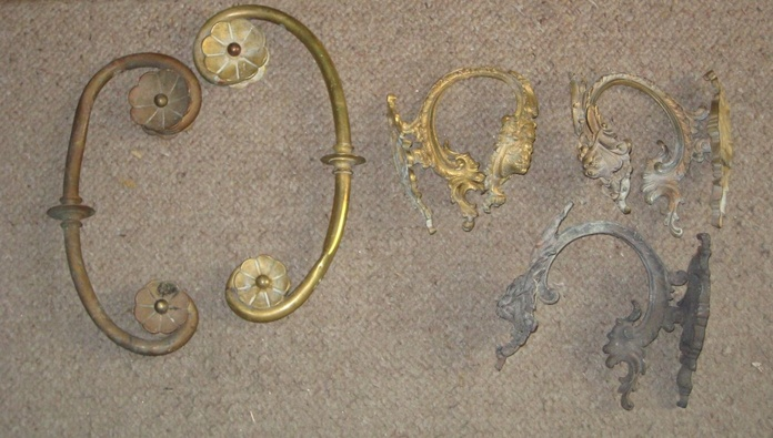 Piezas antiguas - Agarre cortina (ANTES)