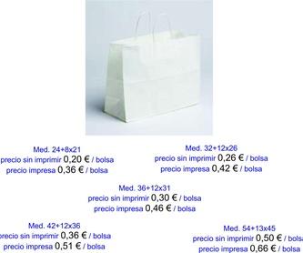 Modelo Calypso y Bolero: Productos de Bolsagrafic