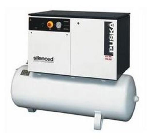 Compresores de pistón serie industrial - insonorizados sobre depósito 1 etapa
