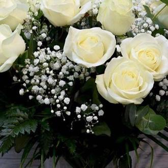 Ramos rosas blancas