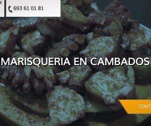Restaurante marisquería en Cambados | A Fonte Do Viño