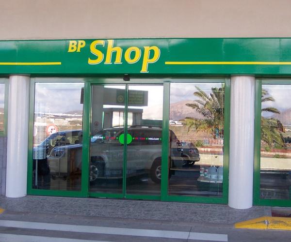 Puertas automáticas para gasolineras en Canarias