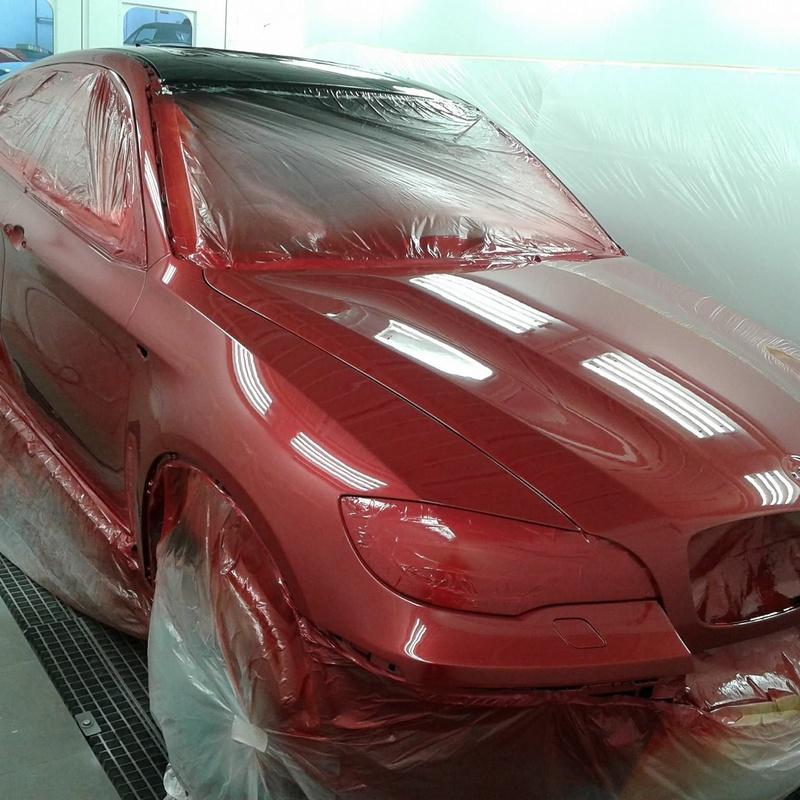 Chapa y pintura: Servicios de KR Sport Automoción