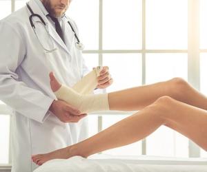 Una de las lesiones más frecuentes: el esguince