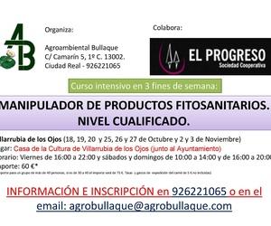 CURSO FITOSANITARIOS CUALIFICADO OCTUBRE-NOVIEMBRE 2019