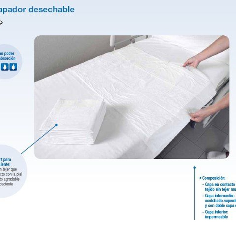 Empapador desechable: Productos de PLUS CLINIC
