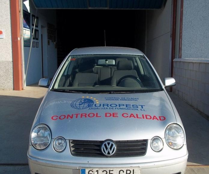 Tratamiento de plagas Huelva