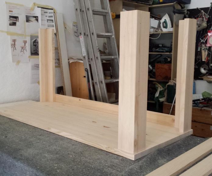 Carpintería en general: Servicios de Pak Of Shume, Muebles de madera
