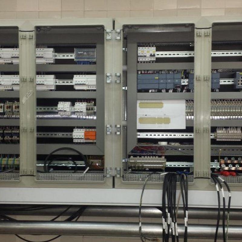 Cuadros eléctricos: Servicios de iFÉR Instalaciones y Mantenimientos Industriales Ferré, S.L.