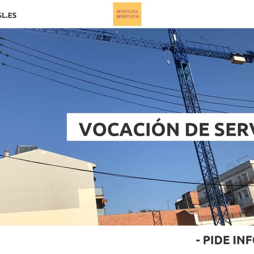 Alquiler de casetas de obra en Barberà del Vallès | Montcada SL