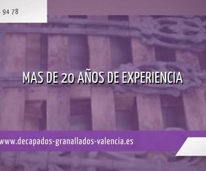 Decapado de pintura en Valencia | Decamer