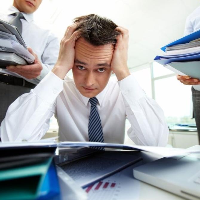 El problema del estrés laboral
