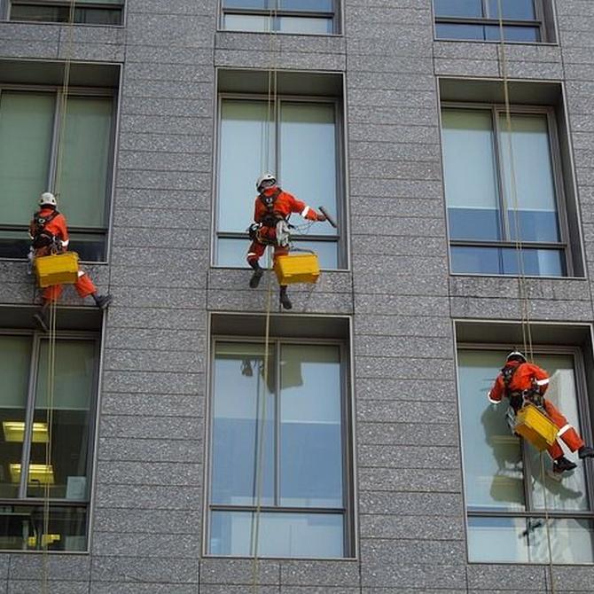 El origen y la historia de los trabajos verticales