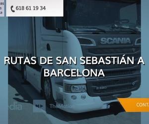 Transporte de mercancías San Sebastián | Transportes José Luis Almenara