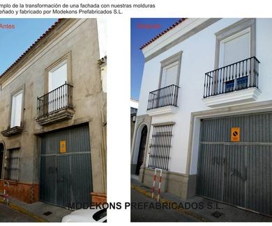 Restauración de fachadas Sevilla