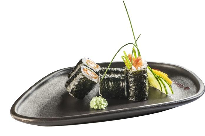 Langostino de panko con cebolla caramelizada  4,80€: Carta de Restaurante Sowu