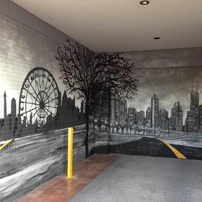 La decoración con murales