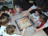 Pizza Casera / Homemade Pizza - Playschool - Guardería - Cájar - Granada