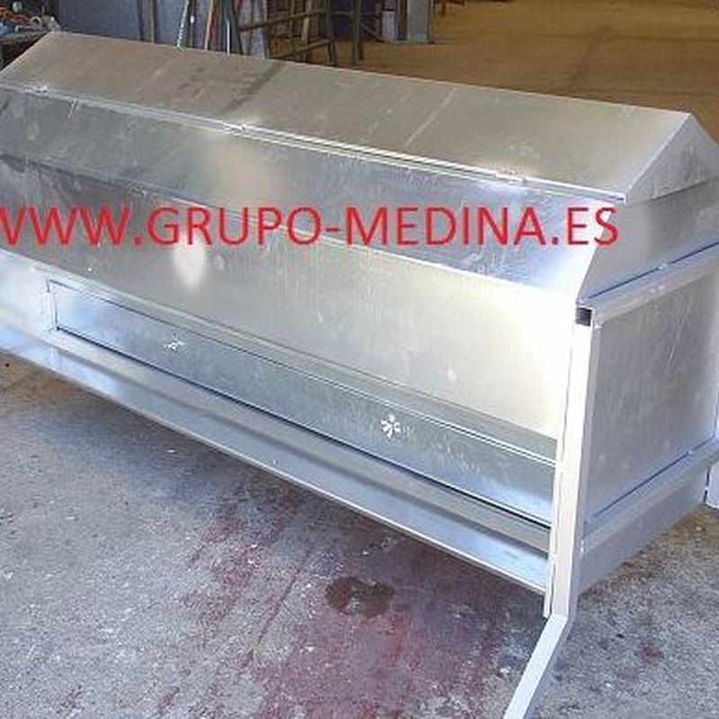 TOLVA DE PIENSO GALVA: NUESTROS PRODUCTOS de Grupo Medina