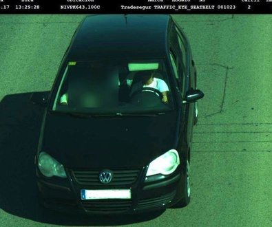 Las 50 primeras cámaras que vigilan el uso del cinturón de seguridad empiezan a multar