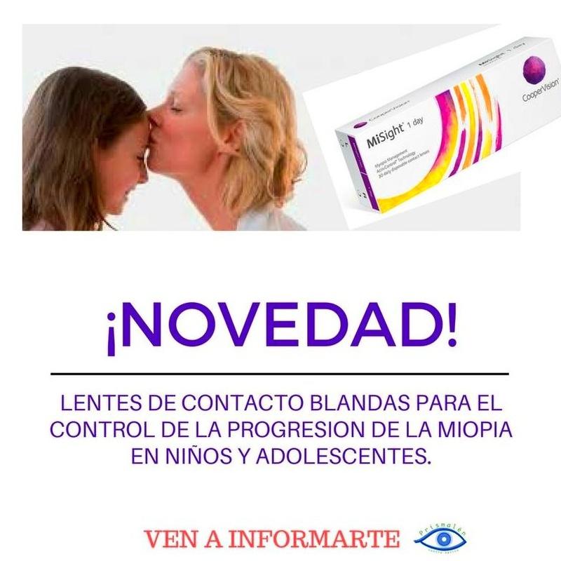 CONTROL DE LA PROGRESION DE LA MIOPIA: Servicios de ÓPTICA PRISMALEN             Nº reg. sanitario: E-36-000 230