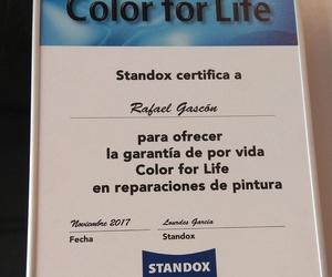 Garantía de por vida de nuestra pintura