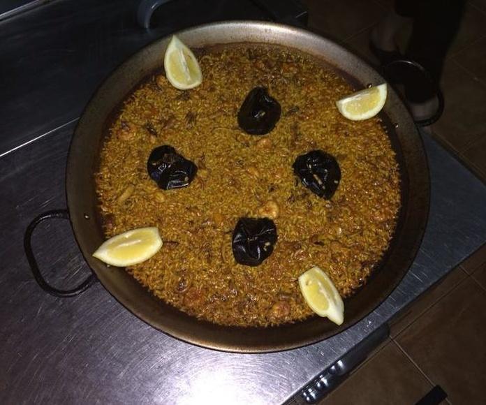 Comer paellas en EL Puerto de Sagunto