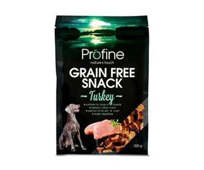 Profine Snacks para perro sin grano y sin gluten de pavo 200 gr