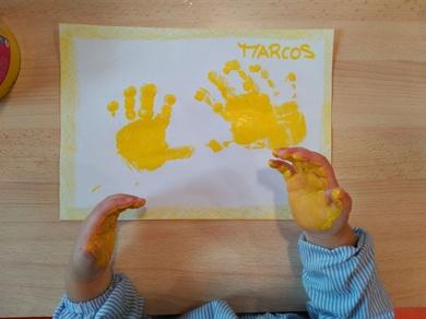 Jugamos con el color amarillo