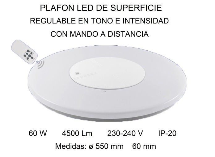 Plafon superficie: Productos de Centro Led Almería }}