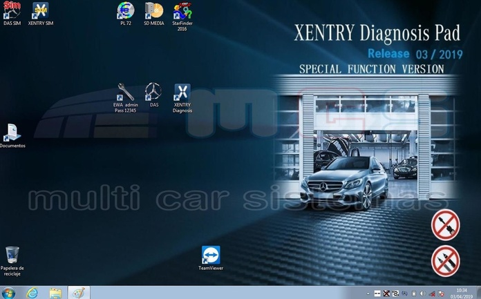 xentry 2019 pantalla escritorio star diagnosis mercedes benz }}