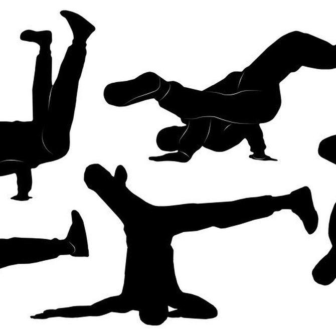 Algunos pasos básicos del break dance