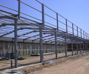 Fabricación y montaje de estructuras de todo tipo