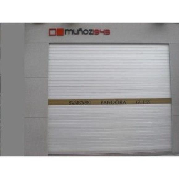 Persianas de aluminio y acero inoxidable: Nuestros Productos de Puertas Automáticas Carrascoy