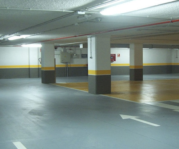 Limpieza parkings