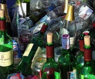 Recogida de envases paletizados: Servicios de Recuperación y Reciclaje de Vidrio S.L.