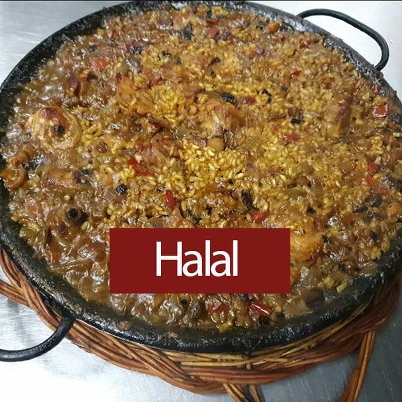 Arroz Halal: Carta y Menús de Cantarradas